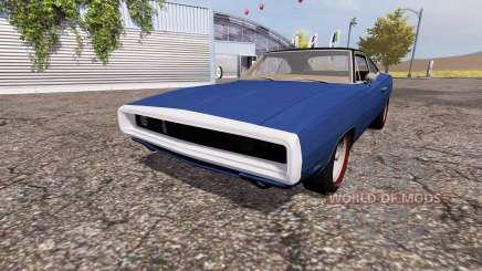 Dodge Charger RT (XS29) 1969 para Farming Simulator 2013
