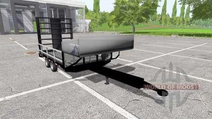 Small utility trailer para Farming Simulator 2017