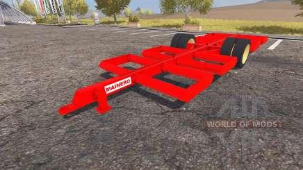 Mainero bale trailer para Farming Simulator 2013