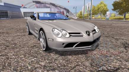 Mercedes-Benz SLR McLaren (C199) para Farming Simulator 2013