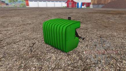 Switchable weight plates para Farming Simulator 2015