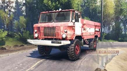 GAZ 66 AC 30 v2.0 para Spin Tires