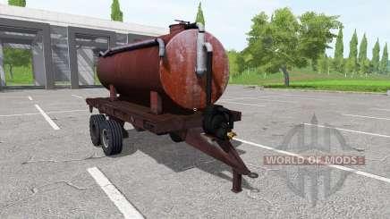 Trailer tank para Farming Simulator 2017