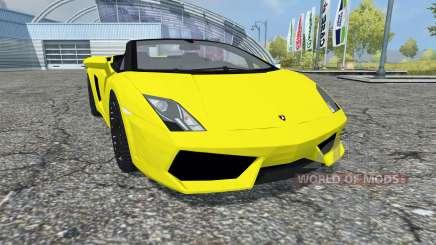 Lamborghini Gallardo LP 560-4 Spyder 2009 para Farming Simulator 2013