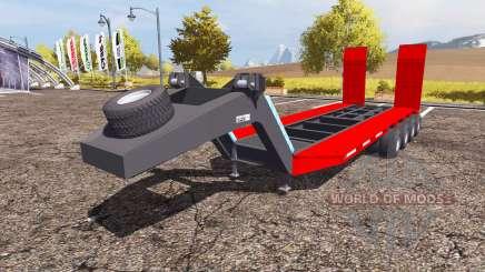 Low bed semitrailer para Farming Simulator 2013