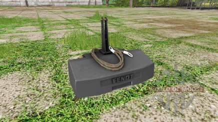 Weight Fendt para Farming Simulator 2017