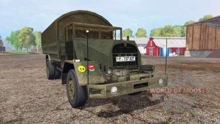 MAN 630L2 AE v0.1 para Farming Simulator 2015