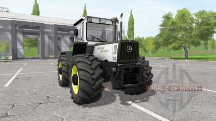 Mercedes-Benz Trac 1400 Turbo silver para Farming Simulator 2017