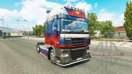 Piel de Rusia tractora DAF para Euro Truck Simulator 2