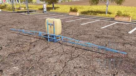 Pilmet sprayer v2.0 para Farming Simulator 2013