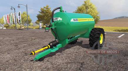 MAJOR Slurri Vac 1600 para Farming Simulator 2013