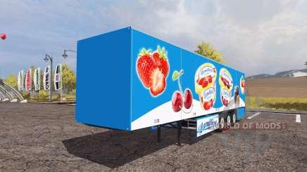 Schmitz Cargobull S.KO Express Landliebe para Farming Simulator 2013