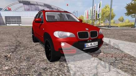 BMW X5 4.8i (E70) para Farming Simulator 2013