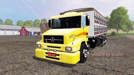 Mercedes-Benz 1620 v2.0 para Farming Simulator 2015
