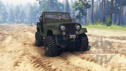 Jeep CJ-7 Renegade 1976 para Spin Tires