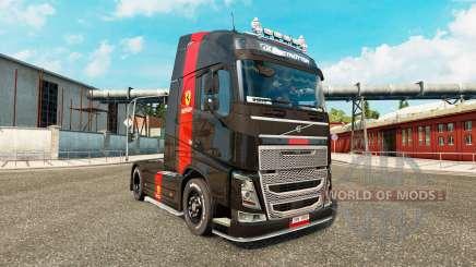 Ferrari piel para camiones Volvo para Euro Truck Simulator 2