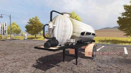 Manure semitrailer para Farming Simulator 2013