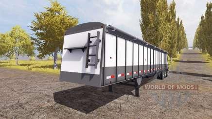 Cornhusker 800 3-axle hopper trailer para Farming Simulator 2013