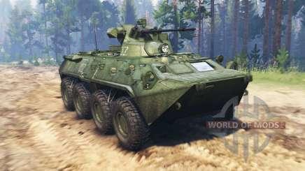 BTR 82A (GAZ-59034) para Spin Tires