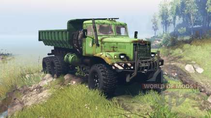 Kraz 255B para Spin Tires