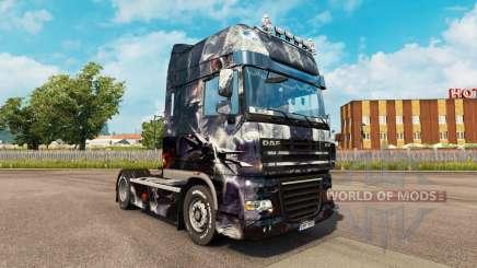 La piel de la Fantasía Perturbado por tractora DAF para Euro Truck Simulator 2