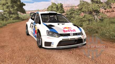 Volkswagen Polo R WRC v2.0 para BeamNG Drive