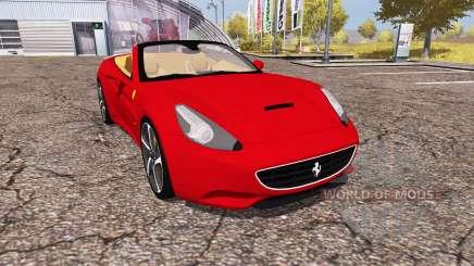 Ferrari California 2010 para Farming Simulator 2013