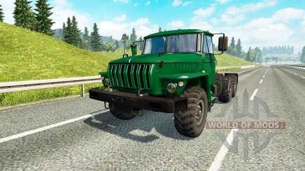Ural 43202 v3.3 para Euro Truck Simulator 2