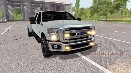 Ford F-350 Super Duty v1.2 para Farming Simulator 2017