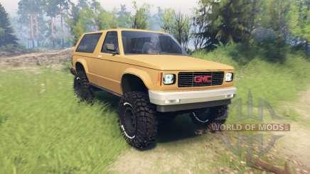 GMC Jimmy 1994 para Spin Tires