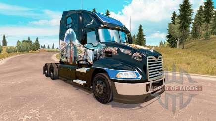 Piel de Verano de la India en el Mack Pinnacle tractor para American Truck Simulator