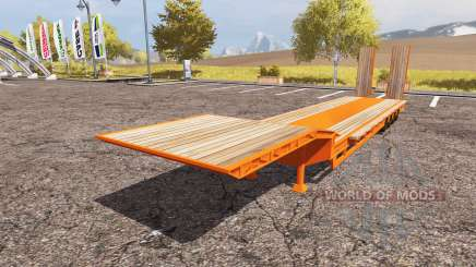 Goldhofer low loader semitrailer para Farming Simulator 2013