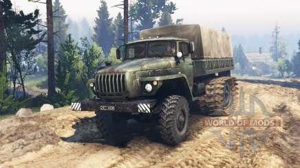 Ural 4320 pantano buggy v1.1 para Spin Tires