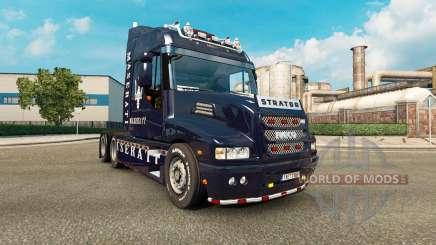 La piel de la Maserati en el camión Iveco Strator para Euro Truck Simulator 2