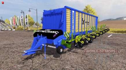 Krone ZX 550 GD rake ArtMechanic v3.5 para Farming Simulator 2013