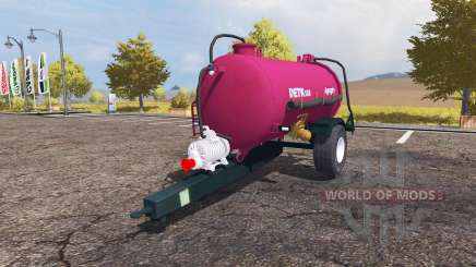 Agrogep DETK 125 para Farming Simulator 2013