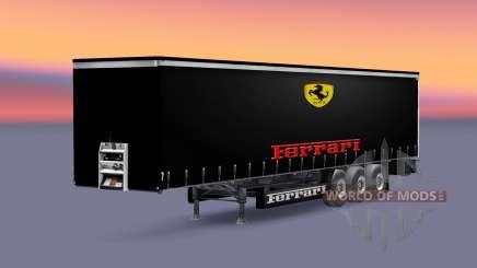 Pieles de equipos de Fórmula 1 para la semi para Euro Truck Simulator 2
