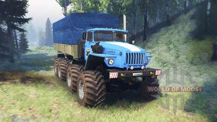 Ural 6614 mega v2.0 para Spin Tires