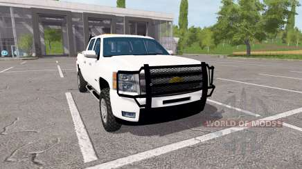 Chevrolet Silverado Z71 Crew Cab para Farming Simulator 2017