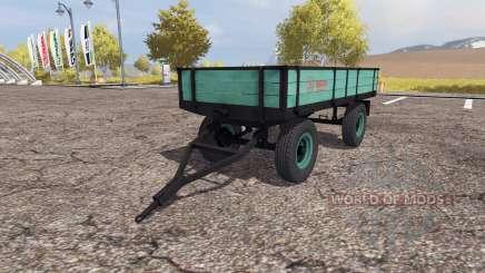 Tractor trailer v2.0 para Farming Simulator 2013