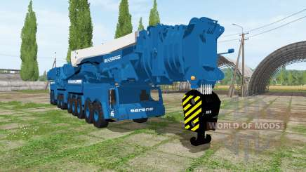 Liebherr LTM 11200-9.1 Sarens para Farming Simulator 2017