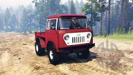 Jeep FC-150 para Spin Tires