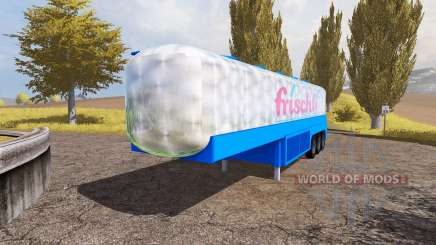 Milk tank semitrailer para Farming Simulator 2013