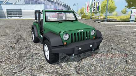 Jeep Wrangler (JK) v0.95 para Farming Simulator 2013