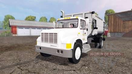 International 4700 1991 feed truck v2.0 para Farming Simulator 2015