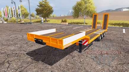 Schwarzmueller low loader semitrailer para Farming Simulator 2013