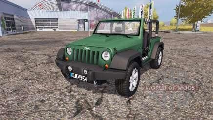Jeep Wrangler (JK) v1.1 para Farming Simulator 2013