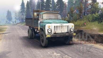 GAZ 53 para Spin Tires