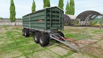 Fliegl DDK 240 4-axle para Farming Simulator 2017