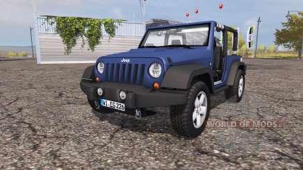 Jeep Wrangler (JK) v1.0 para Farming Simulator 2013
